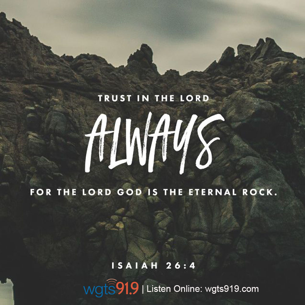 Verse of the Day - August 1