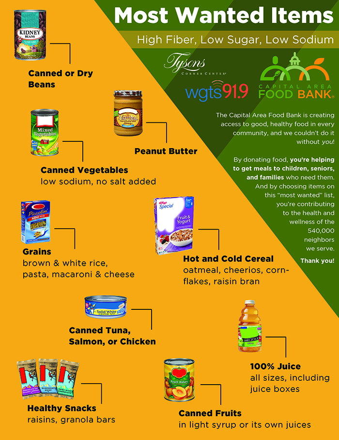 capital area food bank flyer - small