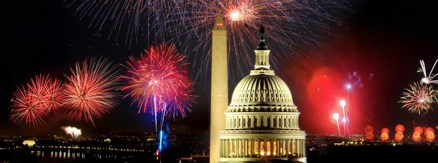 dc fireworks skyline