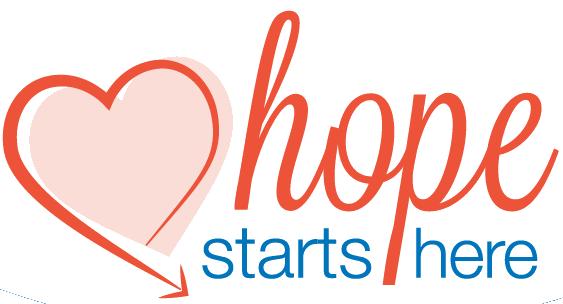 hope starts here - transparent