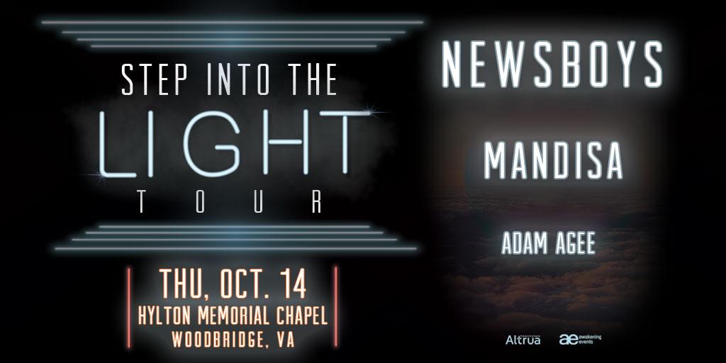 newsboys step into the light tour - oct 14