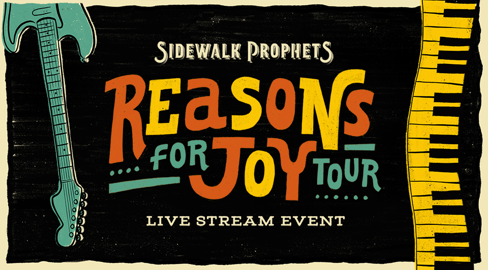 Reasons for Joy Tour banner