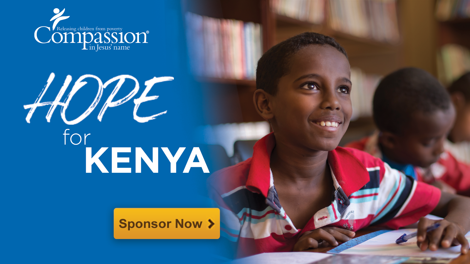compassion - sponsor a child 1600x900 banner