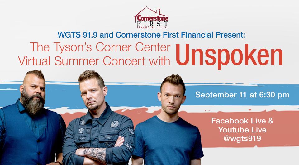 Unspoken virtual concert september 11