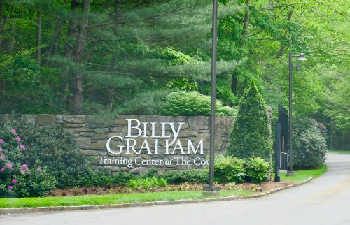 entrance to Billy Graham Evangelistic Association