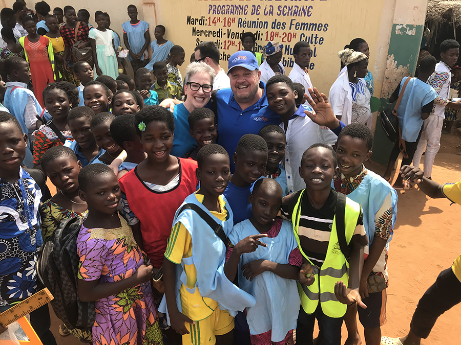 johnny and stacey in compassion project - togo