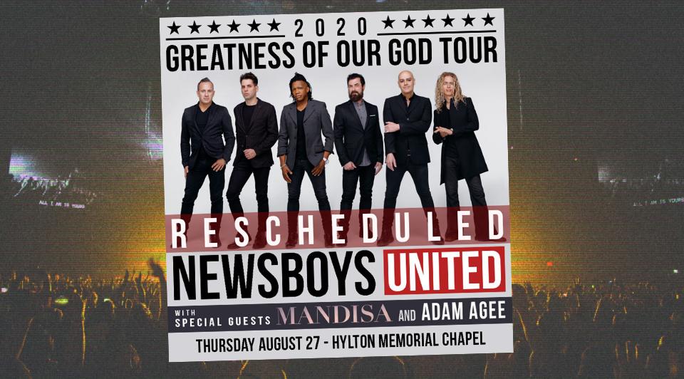 newsboys - rescheduled