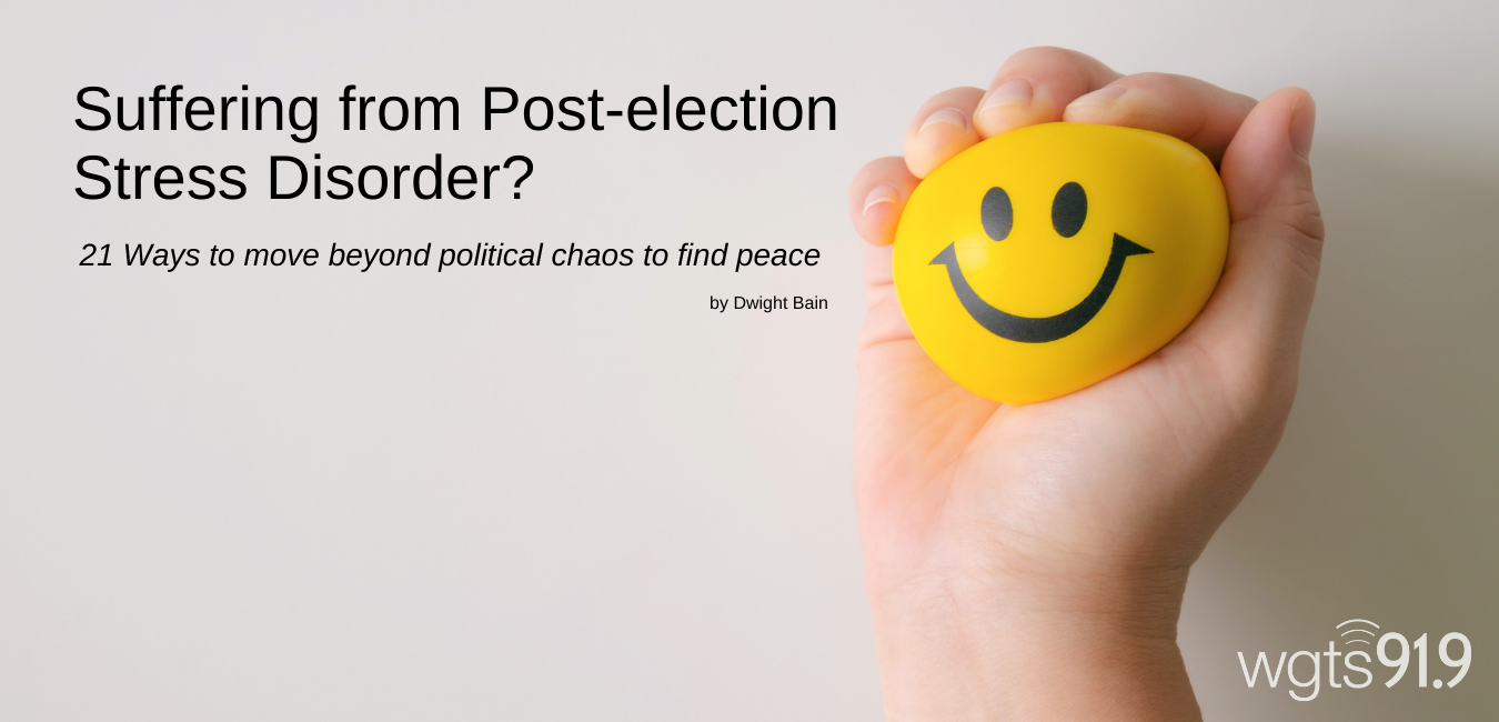 post election stress banner